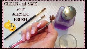 acrylic nail brush how to revive and