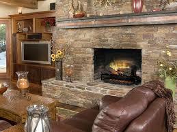 electric fireplace log set