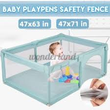Baby Safety Playpen Fence Kid Play Center Yard Play Pen Indoor Outdoor Home Game Shopee Philippines