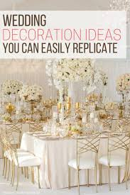 wedding decoration ideas you can easily