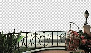 Black Metal Fence Illustration Real Property Balcony Miscellaneous Furniture Interior Design Png Klipartz