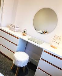 rose gold dressing table ikea ers