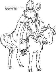 Sinterklaas Knutselen Sinterklaas Kleurplaten Sinterklaas Op