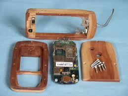 Siemens cx65 wooden cellphone mod ...