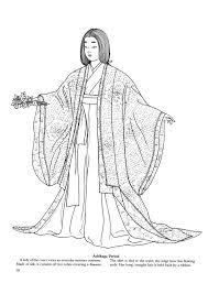 Japanese Fashions 9 Kleurplaten Japan Geisha S