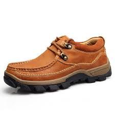 genuine leather mens shoes autumn