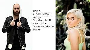 Machine Gun Kelly,X Ambassadors & Bebe Rexha , Home , (Lyrics ...