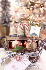 moscow mule gift basket diy hostess