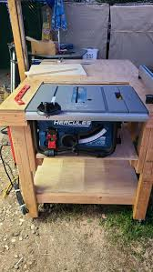 10 In 15 Amp Compact Job Site Table Saw In 2020 Table Saw Fence Portable Table Saw Diy Sewing Table