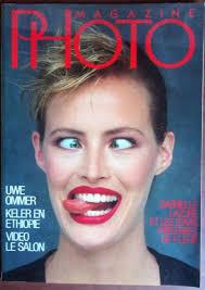 Gabrielle Lazure, Photo Magazine May 1986 Cover Photo - France