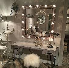 luxury makeup beauty room vanity setting