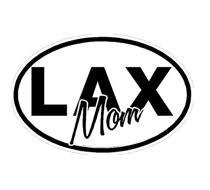 Lacrosse Car Window Stickers