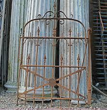 Antique Stewart Iron Works Wrought Iron Gate Ricca S