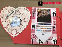 i love you mdf card handmade gift for