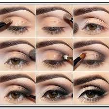 eye makeup for hazel eyes step by step