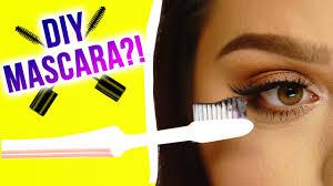 diy mascara makeup mythbusters w