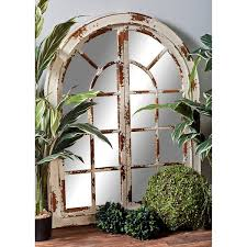 arch crowned top mirrors