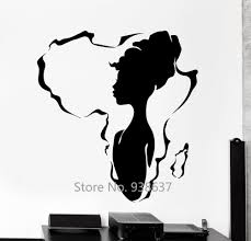 African Print Wall Stickers Ethnicartdesigns
