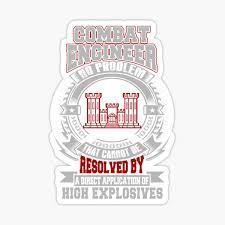 Combat Engineer Stickers Redbubble