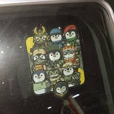 M A M U Penguin Car Decal Design 2 Car Accessories Accessories On Carousell