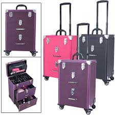 trolley case train cases cosmetic case
