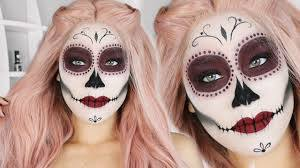 easy sugar skull makeup tutorial