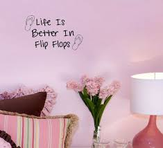Free Shipping Life Is Better In Flip Flops Decor Vinyl Wall Decal Quote Sticker Inspiration Wall Decals Vinyl Stickers Home Dec Life Is Stickers Homeinspirational Wall Decals Aliexpress