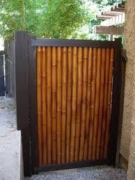 Bamboo Gate1 Photo By Statsumi Photobucket Backyard Fences Bamboo Fence Fence Design