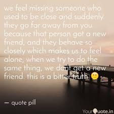 we feel missing someone w quotes writings by pushpak jami
