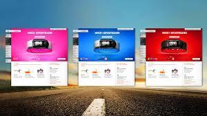 Nike Projects by Adam Jesberger, via #Behance #Webdesign | Web design,  Projects, Interface design