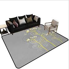 com grey and yellowstair carpet