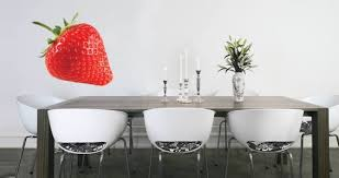 Strawberry Wall Decals Dezign With A Z