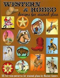 rodeo designs for stained glass