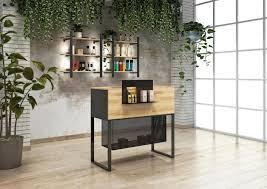 hair salon recepion desk manufactured
