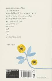 the sun and her flowers amazon co uk rupi kaur books