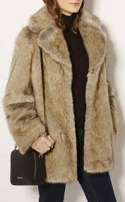 luxury faux fur coat 17986 karen millen