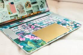 Gold Laptop Trackpad Sticker Keyshorts