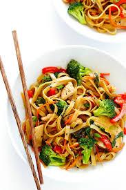 sesame en noodle stir fry