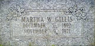 Martha Rosetta Gillis (West) (1892 - 1971) - Genealogy