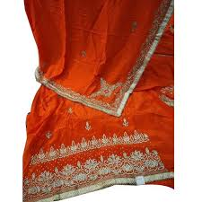 rayon bridal embroidered suit material