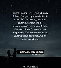 trippy haruki murakami quotes to take you on a journey in