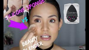 silicone makeup sponge vs brush