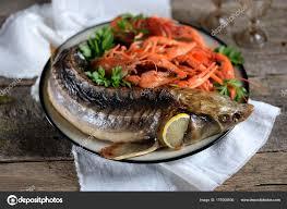 Baked Whole Sturgeon Boiled Crawfish ...