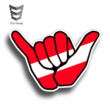 Earlfamily 13cm X 8 9cm Hang Loose Scuba Diver Vinyl Sticker Decal With Dive Flag For Tank Boat Car Truck Back Glass Graphic Car Stickers Aliexpress