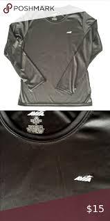 Avis Long Sleeve Black Athletic Top L in 2020 | Athletic top, Sleeves,  Workout tops