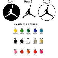 Vinyl Decal Sticker Michael Jordan Mj Nba Jumpman Car Window Air Basketball Logo Ebay