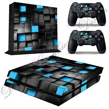 Cube Abstract Sticker Skin For Playstation 4 Ps4 Console 2 Free Ps4 Controller Skins Ps4 12 Playstation Video Game Console Ps4 Skins