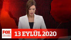 Doğu Akdeniz'de gerilim! 13 Eylül 2020 Gülbin Tosun ile FOX Ana Haber Hafta  Sonu - YouTube