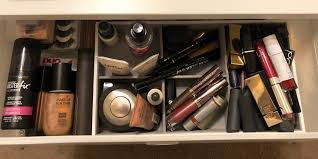 organizing expert reved my makeup