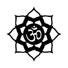 Lotus Om Symbol Vinyl Decal Sticker
